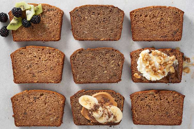Barley in Banana Bread