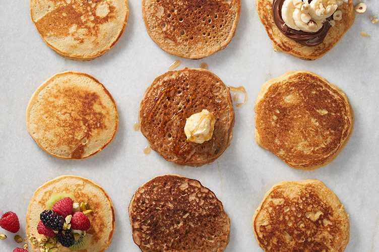 Buckwheat in Pancakes