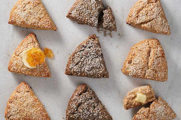 Amaranth Scones