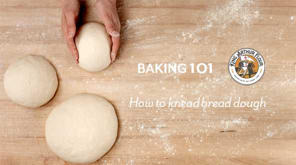 How to knead bread video