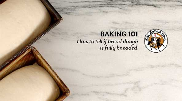 How to tell if bread dough is fully kneaded video